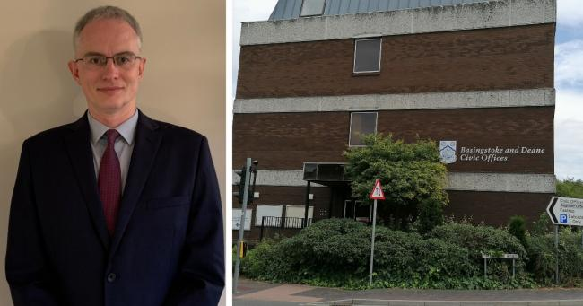 Russell O'Keefe has been confirmed as the new chief executive of Basingstoke and Deane Borough Council