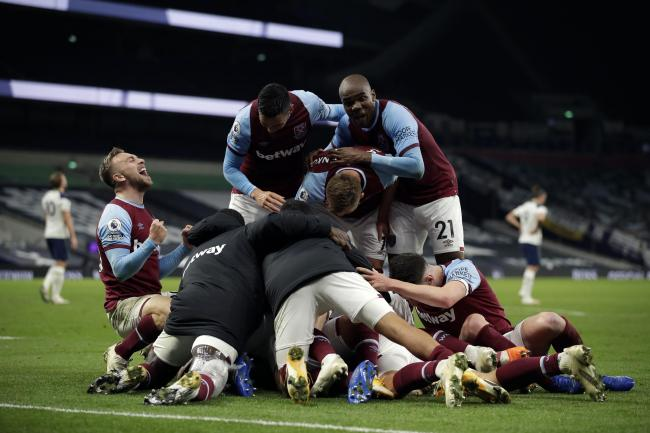 West Ham left it late at Tottenham