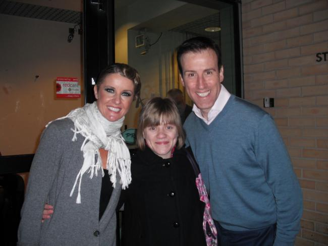 Elsa is one of just a few people that can say they've danced with King of ballroom Anton du Beke.
