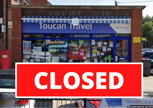 Toucan Travel had seven branches in Hampshire (Image: Google street view)