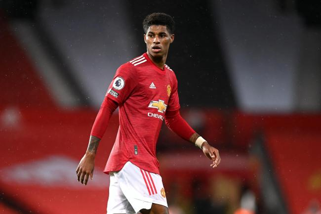 Marcus Rashford has been praised for his work off the pitch