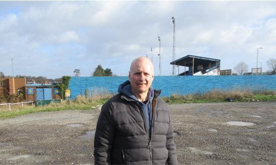 Cllr Gary Watts is calling on the public to help protect the Camrose from development
