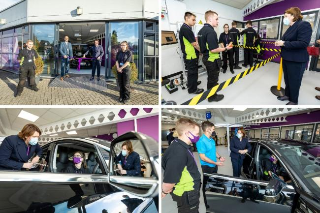 The new Electric Vehicle Training Centre is now open at BCoT