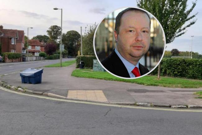 Residents in Cllr Havey's area are angry at the council mess-up