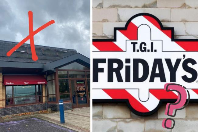 The most popular suggestion to replace Pizza Hut was TGI Friday's