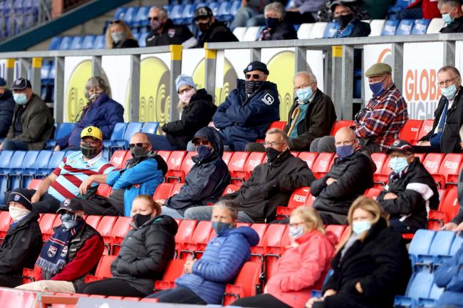 The return of fans remains a contentious issue in Scotland