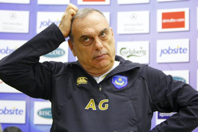 Avram Grant endured a challenging time as Portsmouth manager