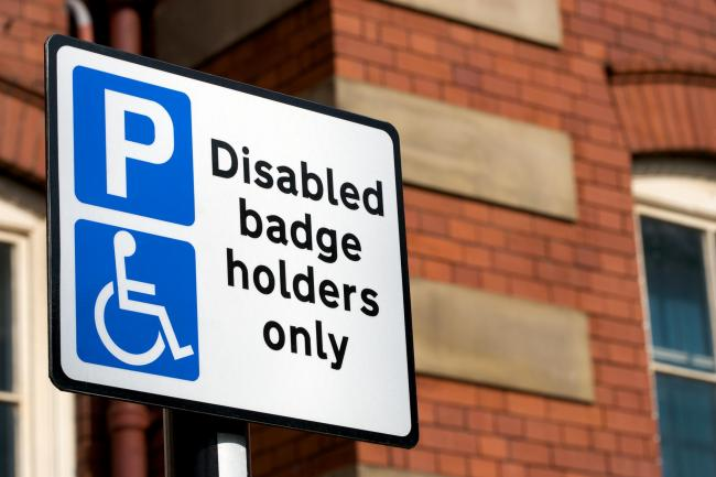 Disabled parking generic / Getty / rsutton