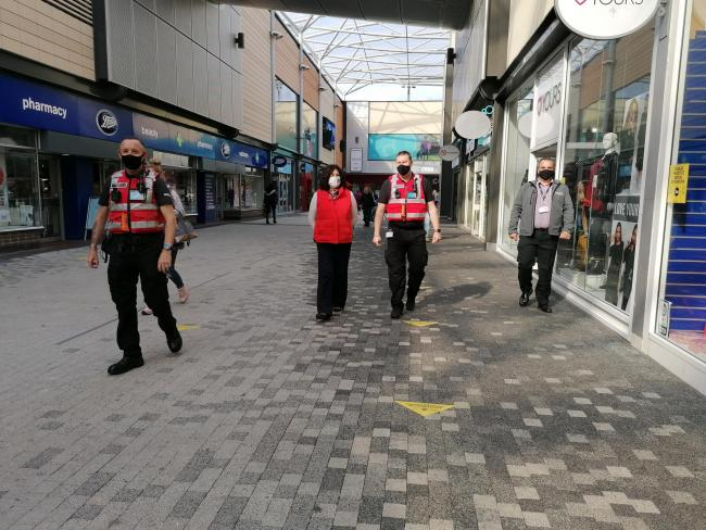 Covid marshals will be deployed to Basingstoke in addition to the current street rangers in Basingstoke town centre