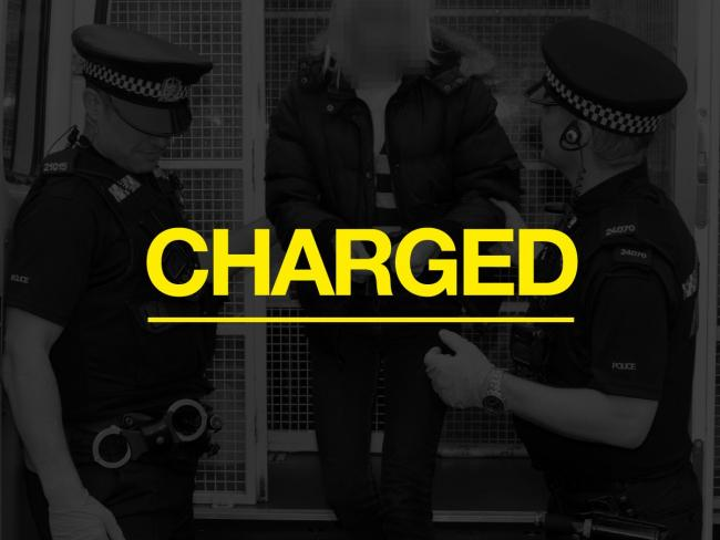 Police have charged a man with for a burglary on Old Worting Road