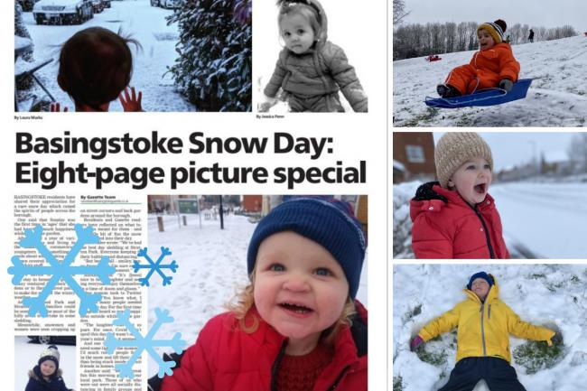 The eight-page snow day special is inside the Gazette this week.