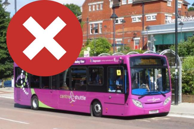 The Centre Shuttle will end as part of the new council Budget in place from April