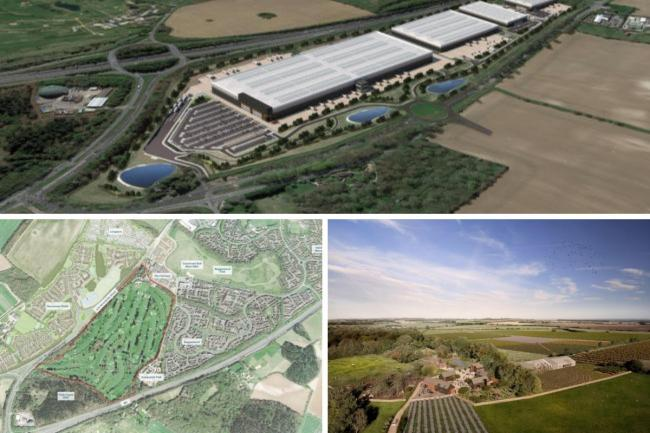 These plans will see thousands of homes and facilities built in Basingstoke, but have been controversial