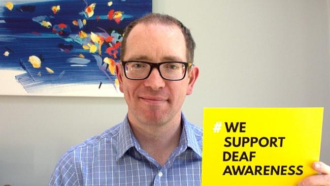 Simon Houghton says his dream is to see his awareness signs posted in shops around the country.