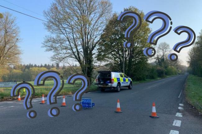 Horse racing event near Micheldever explained (Image: Winchester Police)