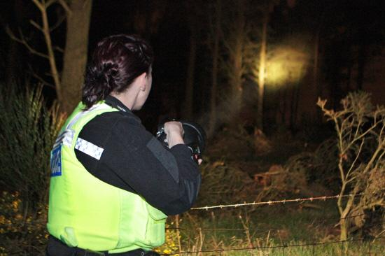 Basingstoke Gazette: A poaching team on patrol