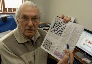 Crossword fan Jack Sedgewick