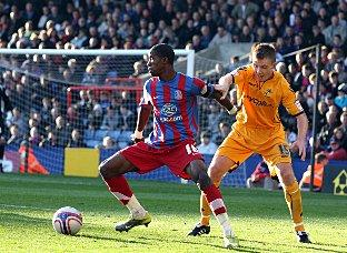 Basingstoke Gazette: George Burley is a big fan of Wilfried Zaha
