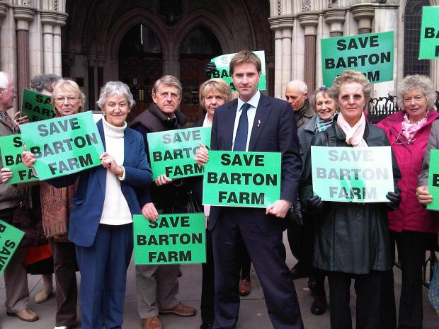 Barton Farm: reaction starts to flow