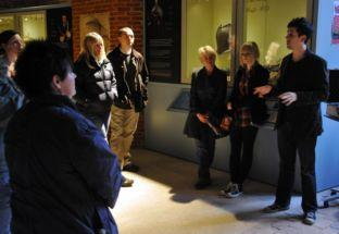 Braving the ghost walk at Basing House