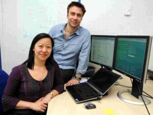 Linda Cheung and Mark Bower who have developed CubeSocial