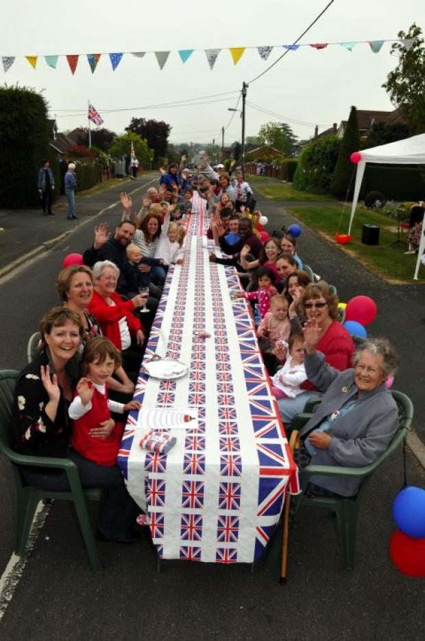 Linden Avenue, Old Basing hosts a street party for last year's Royal Wedding