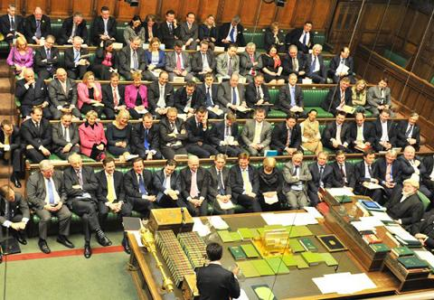 Winchester MP Steve Brine - eighth from right in second row
