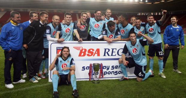Eastleigh celebrate 2012 HSC win