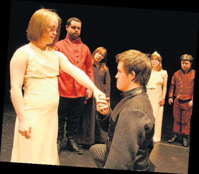 The Blue Apple production of Hamlet in 2012