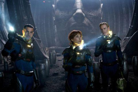 REVIEW: Ridley Scott returns to Alien territory with Prometheus (15)