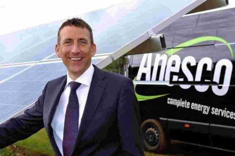 Adrian Pike chief executive of Anesco