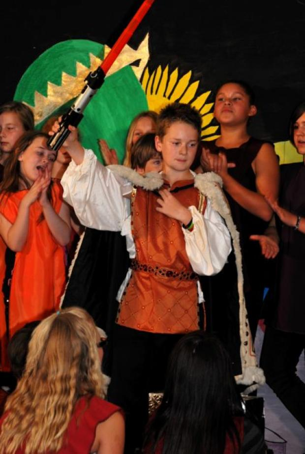Fairfields Primary School's production of Astroknight