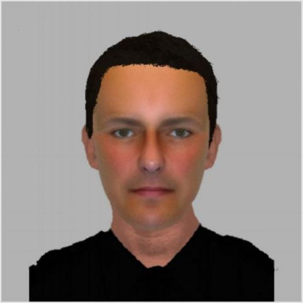 Efit of man police want to speak to about the Eversley burglary