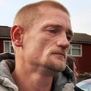 Stuart Hazell, 37, is thought to have been arrested in a park after being spotted by a member of the public