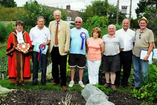 Allotment winners