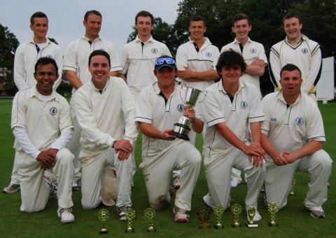 The winning Basingstoke and North Hants team.