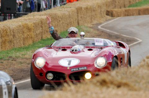 "Chris Evans ""overjoyed"" with CarFest"