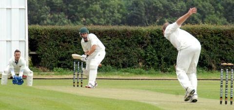 Cricket match in memory of Jack Bland