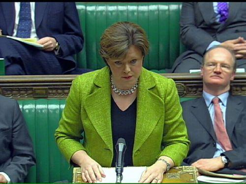 Maria Miller MP in the House of Commons