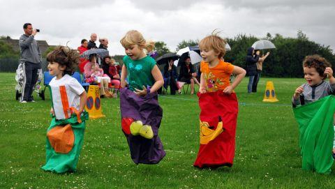 Piccolo Pre-school youngsters take part in the