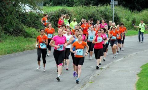 The fourth annual Iron Mums event in Tadley