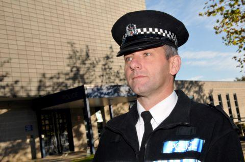 Chief Inspector Andy Bottomley, of Hampshire Constabulary's Roads Policing Unit