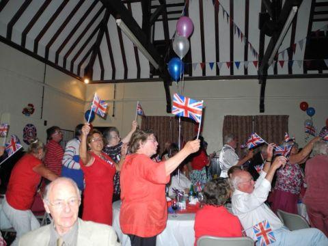 Celebrating the Last Night of the Proms in Sherfield-on-Loddon