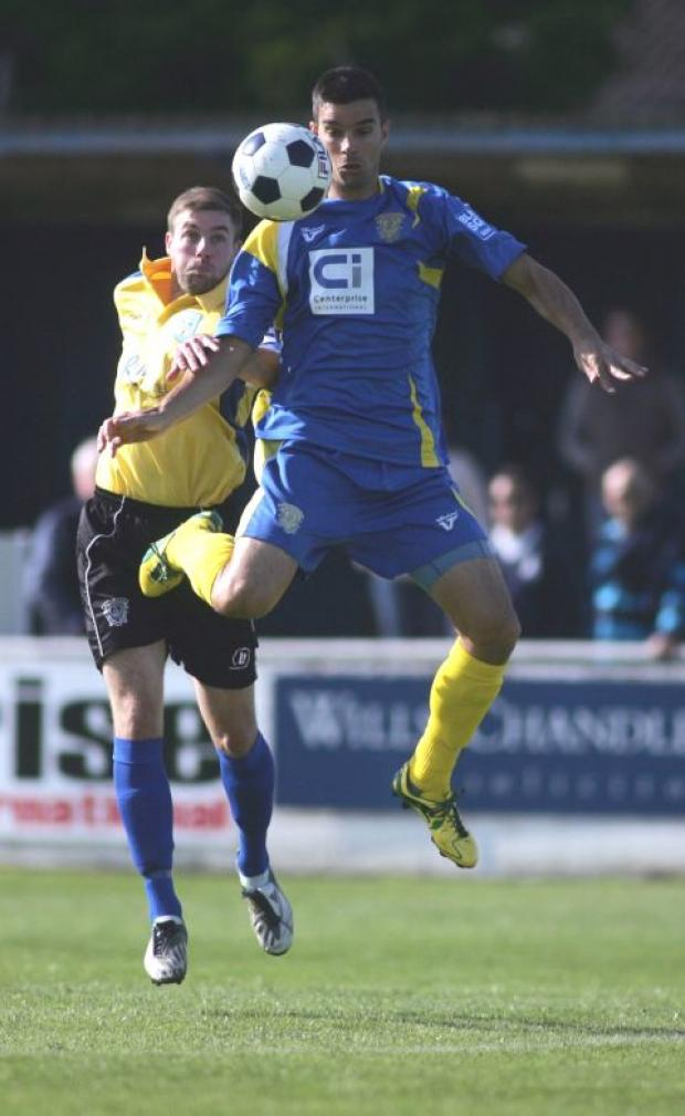 Tim Sills got Basingstoke Town's equalising goal in the win over Weymouth.