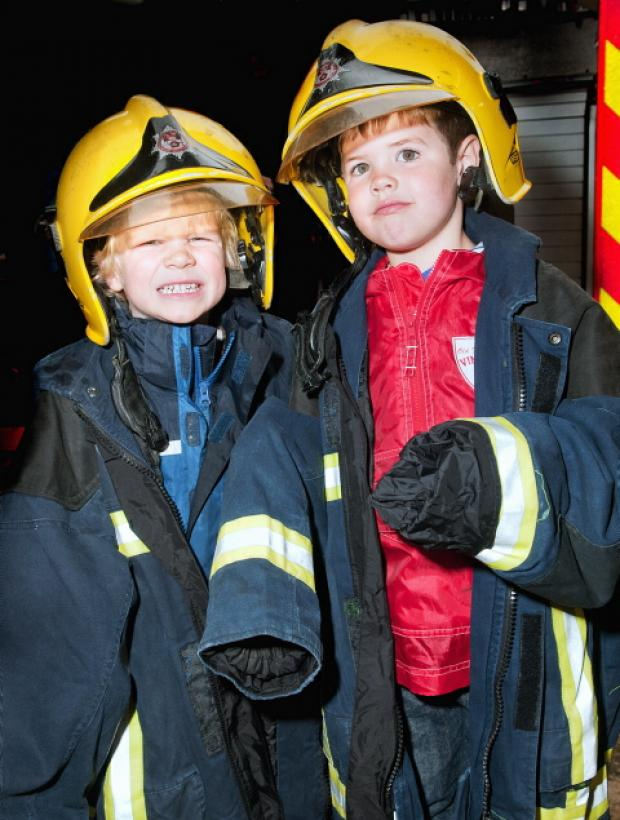 Firemen's day a roaring success