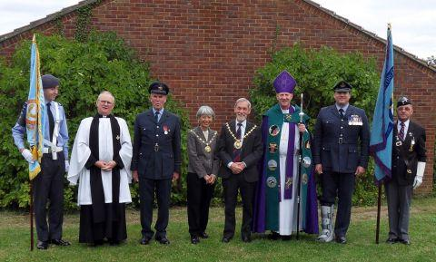 Memorial service for Battle of Britain heroes