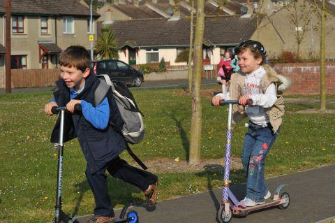 New competition to get children scooting to school