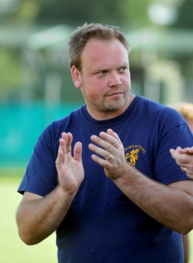 Basingstoke RFC director of rugby James Croker.