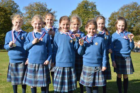 The St Swithun's medal winners.