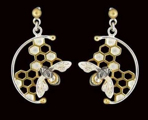 A pair of earrings stolen from the Headbourne Worthy home